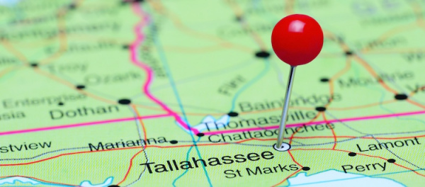 map of tallahassee